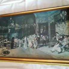 Arte: CUADRO DE MARIANO FORTUNY.DE 1870..(LA VICARÍA).PINTOR CATALÁN NACIDO EN REUS.. Lote 287618618