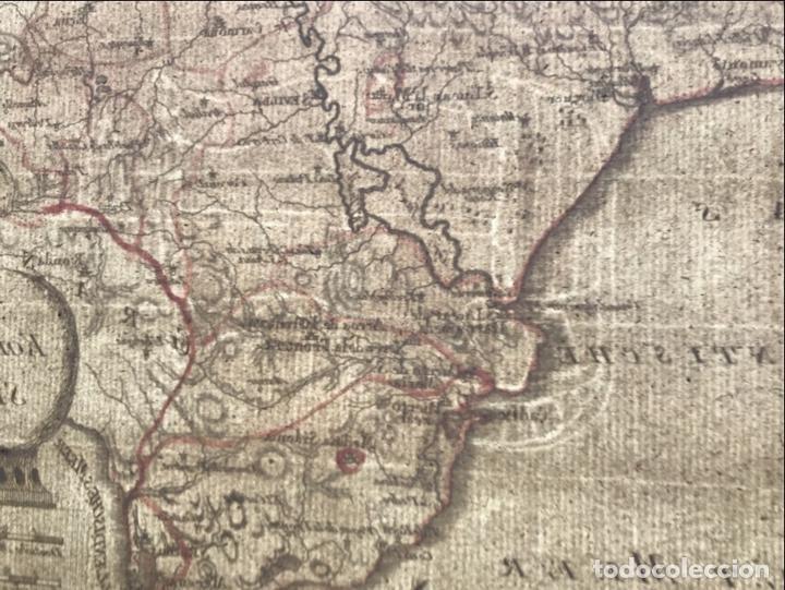 Arte: Mapa de Cádiz y Málaga (España), 1789. F. J. Joseph von Reilly - Foto 10 - 287679358
