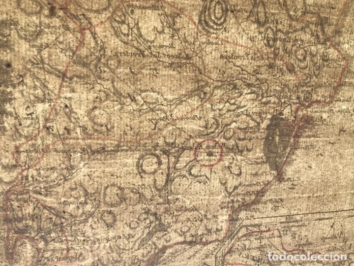 Arte: Mapa de Sevilla y Cádiz (Andalucía, España), 1789. Reilly - Foto 10 - 287914563