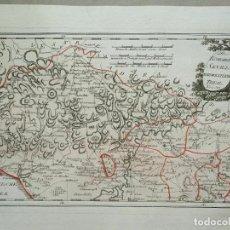 Arte: MAPA DE HUELVA Y SEVILLA (ESPAÑA), 1789. F. J. JOSEPH VON REILLY. Lote 287917258