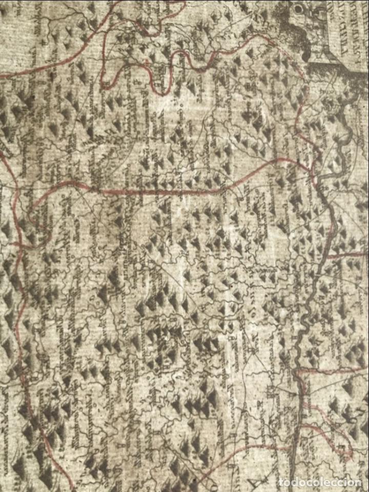 Arte: Mapa del norte de Cáceres e inmediaciones (Extremadura, España), 1789. Reilly - Foto 10 - 287927393