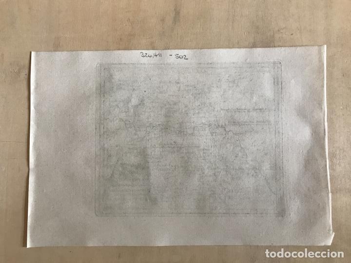 Arte: Mapa de Mérida y Badajoz e inmediaciones (Extremadura, España), 1789. Reilly - Foto 9 - 287930543