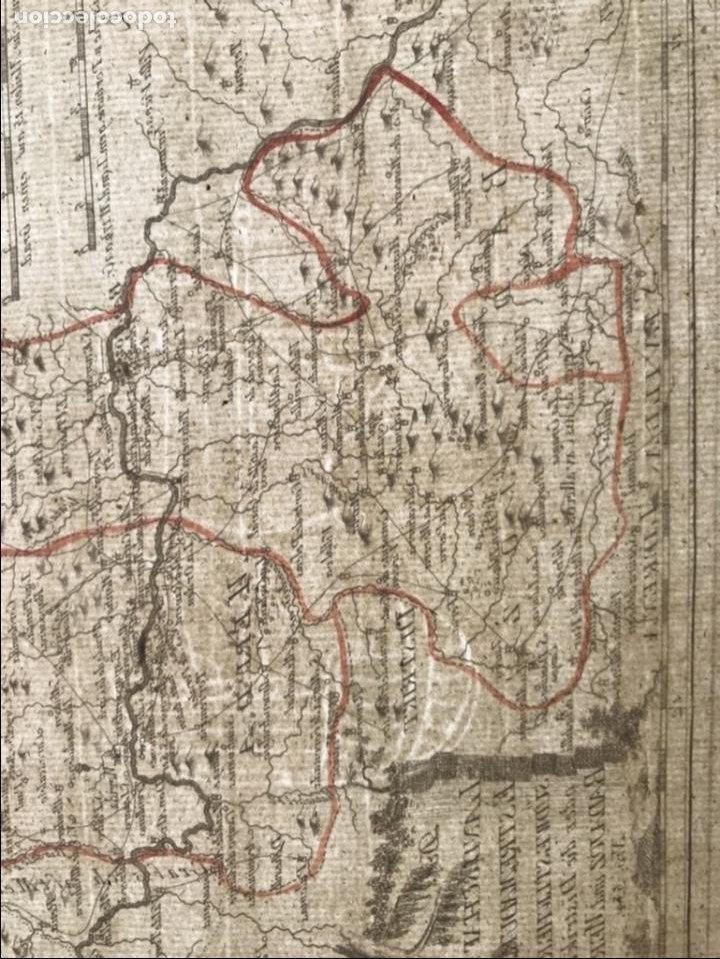Arte: Mapa de Mérida y Badajoz e inmediaciones (Extremadura, España), 1789. Reilly - Foto 10 - 287930543