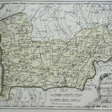 Arte: MAPA DEL NORTE DE PORTUGAL, 1789. REILLY. Lote 287938778