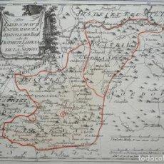Arte: REGIONES DE LA SERENA Y LA LLERENA, BADAJOZ (EXTREMADURA, ESPAÑA), 1789. REILLY. Lote 288646673