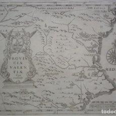 Arte: MAPA RELIGIOSO DE VALENCIA DEL SIGLO XVIII. Lote 295802578