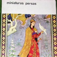 Arte: MINIATURAS PERSAS ANTIGUAS. EDT: UNESCO-HERMES BOLSILLO ARTE.1962. MAS DE 28 ILUSTRACIONESCOLOR.EXTE. Lote 25937676