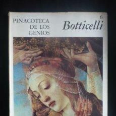 Arte: PINACOTECA DE LOS GENIOS. BOTTICELLI. Nº6. . Lote 13364419