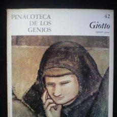 Arte: GIOTTO. PINACOTE DE LOS GENIOS. SEGUNDA PARTE. CODEX. Lote 10303830