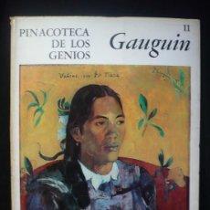 Arte: GAUGIN. PINACOTECA DE LOS GENIOS. Nª11. ED.CODEX. Lote 10182347