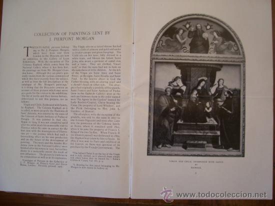 Arte: Vendo catalogo de 1915 del The Metropolitan Museum of Art- collection Of Paintings Lent By J. Pierp. - Foto 2 - 26388904