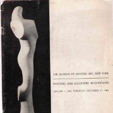 Arte: MUSEO DE ARTE MODERNO DE NUEVA YORK. Lote 24777618