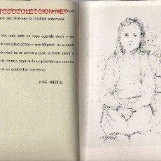 Arte: CATÁLOGO MIGNONI : DIBUJOS ORIGINALES ( CON TEXTO DE JOSÉ HIERRO) - 1972. Lote 25422224