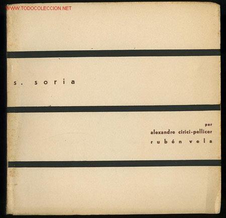 *SALVADOR SORIA* CUADERNOS ARTE MOV. ART. MEDITERRÁNEO Nº 3. VALENCIA 1960. CON FIRMA AUTÓGRAFA. (Arte - Catálogos)