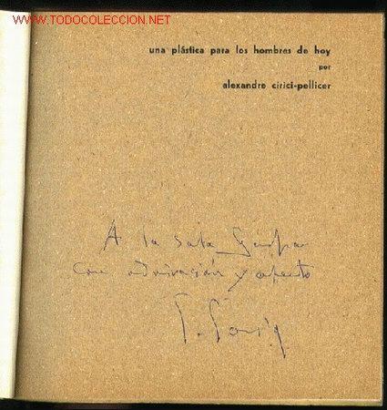 Arte: *Salvador Soria* Cuadernos Arte Mov. Art. Mediterráneo nº 3. Valencia 1960. Con firma autógrafa. - Foto 2 - 2129817