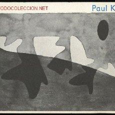 Arte: *PAUL KLEE* EXPO GALERIA RENÉE ZIEGELER, ZURICH OCT. 1963. 32 PGS. 15,3X23 CMS. 32 FOTOS B/N.. Lote 2145993