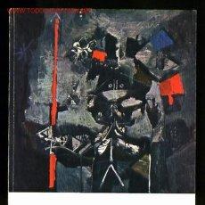 Arte: *ANTONI CLAVÉ* EXPO *CLAVÉ 25 AÑOS DE PINTURA* MUSÉE RATH, GENÈVE 1961. 80 PGS. 14,8X21 CMS.. Lote 2147257