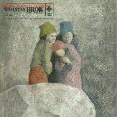 Arte: SUBASTAS BROK. ARTE Y JOYERÍA. OCTUBRE 2005.CATALOGO DE ARTE. Lote 48305076