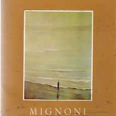 Arte: MIGNONI - GALERÍA THEO, 1971. Lote 24811307
