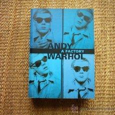 Arte: ANDY WARHOL: A FACTORY. GERMANO CELANT. 1999. PRÓLOGO DE THOMAS KRENS. 570 PÁGINAS ILUSTRADAS.. Lote 27139925
