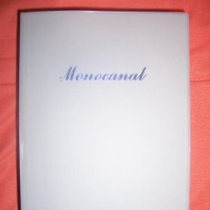 Arte: MONOCANAL AUDIOVISUALES MUSEO NACIONAL CENTRO DE ARTE REINA SOFÍA CON CD. Lote 17882806