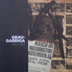Arte: GRAU-GARRIGA. 40 + 40. EXPOSICIÓN COLLAGES, 2009. A ESTRENAR. * ( SANT CUGAT, 1929) * . Lote 27244247