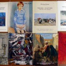 Arte: 8 CATALOGOS DE PINTURAS- TALLAS- ARTE ABSTRACTO- PARIS 1994. Lote 17357412