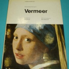 Arte: THE COMPLETE PAINTINGS OF VERMEER. PIERO BIANCONI. WEIDENFELD AND NICOLSON. 1970. 104 PÁG.. Lote 23331924