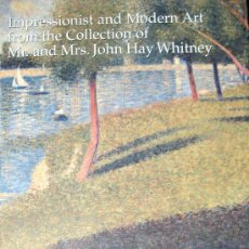 Arte: SOTHEBY'S. IMPRESSIONIST AND MODERN ART FROM THE COLLECTION OF MR. AND MRS. JOHN HAY WHITNEY. CAT.. Lote 26098259