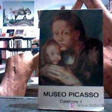 Arte: MUSEO PICASSO. CATALOGO I (SEIX Y BARRAL POR EL AYUNTAMENTO DE BARCELONA, 1975). Lote 18857775
