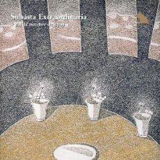 Arte: CATALOGO SUBASTA. SUBASTAS SALA RETIRO. OCTUBRE 2008.. Lote 26582049