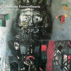 Arte: CATALOGO SUBASTA. SUBASTAS SALA RETIRO. OCTUBRE 2007.. Lote 26603298
