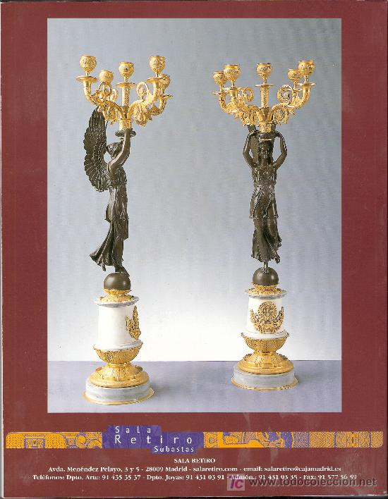 Arte: Catalogo Subasta. Subastas Retiro. Octubre 2005. - Foto 2 - 26603300