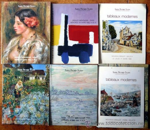 6 catalogos de subastas importantes pinturas comprar - Bonanova subastas catalogo ...