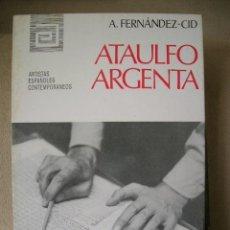 Arte: ATAULFO ARGENTA.GENERACION 51.COMPOSITOR.MONOGRAFÍA.FOTOS.B/N.MED:17X11.ARTISTAS ESPAÑA CONTEMPO. Lote 26915021