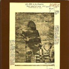 Arte: EL MITO DE LA CAVERNA / JOSÉ LUÍS VERDES ( CATÁLOGO DE EXPOSICIÓN ) - 1976. Lote 195167110