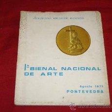 Arte: 1ª BIENAL NACIONAL DE ARTE. Lote 26838416