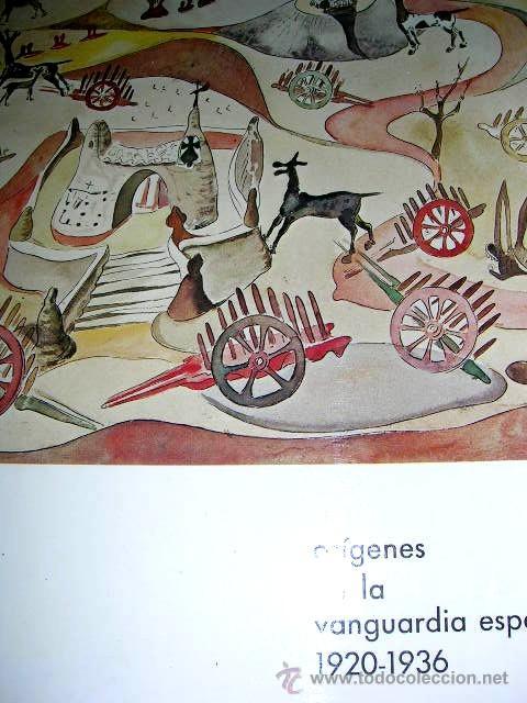 ORIGENES DE LA VANGUARDIA ESPAÑOLA 1920-1936. IMPORTANTE CATÁLOGO 126 PGN. CON 23 PINTORES.VER FOTOS (Arte - Catálogos)
