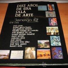 Arte: DIEZ AÑOS DE UNA SALA DE ARTE BERNESGA 1974-1984 LEON. Lote 23741521