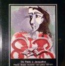 Arte: DE PABLO R.PICASSO A JAQUELINE. Lote 27396039