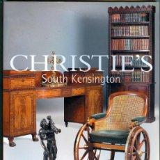 Arte: CATALOGO CASA DE SUBASTAS *CHRISTIE'S* SOUTH KENSINGTON (2001). Lote 27506146