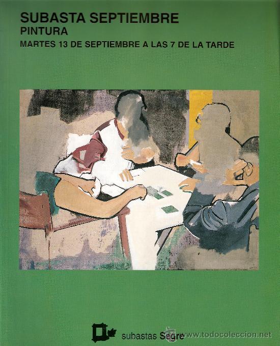 CATALOGO. SUBASTA. SUBASTAS SEGRE. PINTURA. SEPTIEMBRE 2005. (Arte - Catálogos)