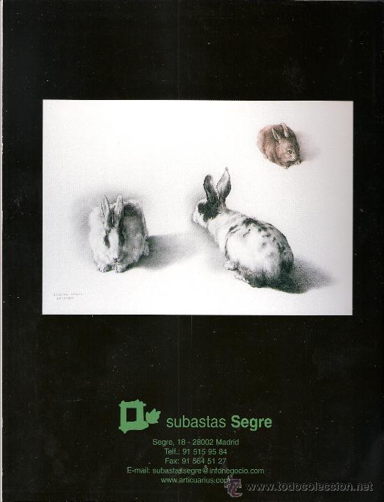 Arte: Catalogo. Subasta. Subastas Segre. Pintura. Septiembre 2005. - Foto 2 - 26632125