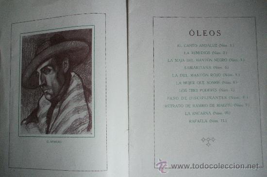 Arte: GUSTAVO DE MAEZTU - 1914 - Galerias Dalmau - Foto 2 - 25366727