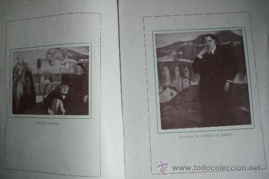 Arte: GUSTAVO DE MAEZTU - 1914 - Galerias Dalmau - Foto 4 - 25366727