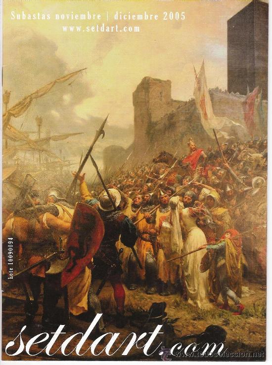 (RV122) CATALOGO SUBASTAS SETDART 2005 (Arte - Catálogos)