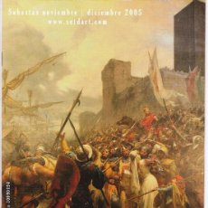 Arte: (RV122) CATALOGO SUBASTAS SETDART 2005. Lote 26247240