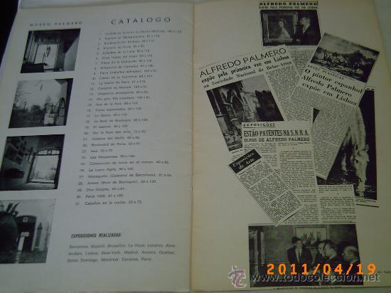 Arte: CATALOGO EXPOSICION DE PALMERO - GALERIAS AUGUSTA AÑO 1968 - BARCELONA - Foto 5 - 26379972