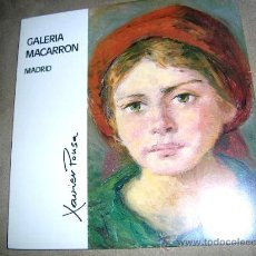 Arte: XAVIER POUSA.EXPO, OBRA EN GALERIA MACARRÓN MADRID 1980.. Lote 26677754