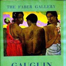 Arte: FABER GALLERY : GAUGUIN (1949). Lote 27535247